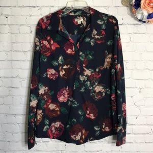 NWOT Merona floral popover